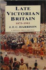 Late Victorian Britain - John Fletcher Clews Harrison (ISBN 9780006861300)