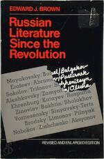 Russian Literature Since the Revolution (Paper) - Ej Brown (ISBN 9780674782044)