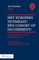 Het Europees notariaat (ISBN 9789013130447)
