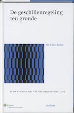 De Geschillenregeling ten gronde - C.D.J. Bulten (ISBN 9789013094404)