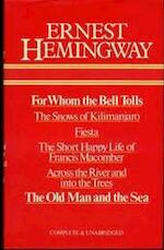 For whom the bell tolls - Ernest Hemingway (ISBN 9780905712031)