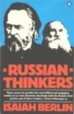 Russian thinkers - Isaiah Berlin (ISBN 9780140222609)