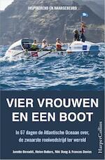 Vier vrouwen in een boot