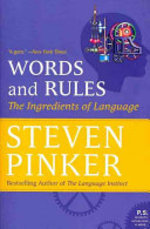 Words and Rules - Steven Pinker (ISBN 9780062011909)