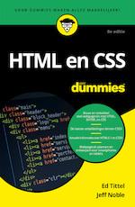 HTML en CSS voor Dummies, 8e editie - Ed Tittel (ISBN 9789045354569)