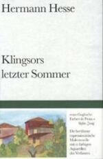 Klingsors letzter Sommer - Hermann Hesse (ISBN 9783518016084)