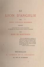 Le lion d'Angelie par Corneille Blessebois - Marc de Montifaud