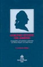 Goethe-Zitate für Juristen - Johann Wolfgang Von Goethe (ISBN 9783504017934)