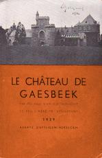Le Château de Gaesbeek