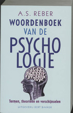 Woordenboek van de psychologie - A.S. Reber (ISBN 9789035118225)