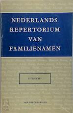 Nederlands repertorium van familienamen - Utrecht