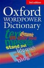 Oxford wordpower dictionary - Jo Turnbull (ISBN 9780194399241)