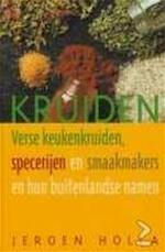 Kruiden - J. Holla (ISBN 9789021537030)