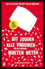 Dit zouden alle vrouwen moeten weten - Marleen Janssen (ISBN 9789402303148)