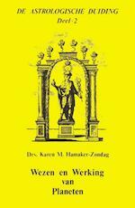 Wezen en Werking van Planeten - Karen M. Hamaker-Zondag (ISBN 9789063780487)