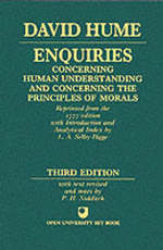Enquiries Concerning Human Understanding and Concerning the - David Hume (ISBN 9780198245360)