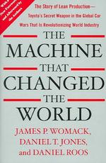 The Machine That Changed the World - James P. Womack, Daniel T. Jones, Daniel Roos (ISBN 9780743299794)