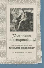 Van onzen correspondent - Willem Elsschot (ISBN 9789463101707)
