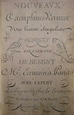 [Elémens ou premières instructions de la jeunesse] - Étienne de Blégny