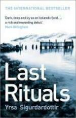 Last Rituals - Yrsa Sigurdardottir (ISBN 9780340918807)