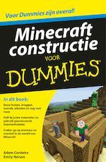 Minecraft constructie voor Dummies - Adam Cordeiro (ISBN 9789045352688)