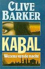 Kabal - Clive Barker, Johannes Melchior (ISBN 9789024519446)