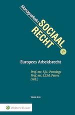Europees arbeidsrecht (ISBN 9789013139396)