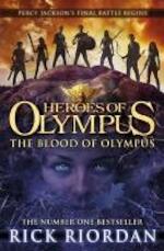 Heroes of Olympus 05. The Blood of Olympus - Rick Riordan (ISBN 9780141339252)