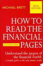 How To Read The Financial Pages - Michael Brett (ISBN 9781409068280)