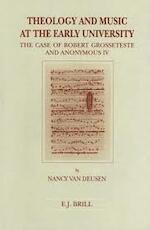 Theology and music at the early university - van N. Deusen (ISBN 9789004100596)