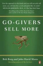 Go-Givers Sell More - Bob Burg, John David Mann (ISBN 9780141049588)
