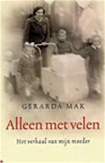 Alleen met velen - Gerarda Mak (ISBN 9789022542323)