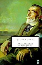 A Personal Record and the Mirror of the Sea - Joseph Conrad (ISBN 9780140189667)