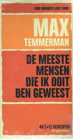 De meeste mensen die ik ooit ben geweest - Max Temmerman (ISBN 9789079390298)