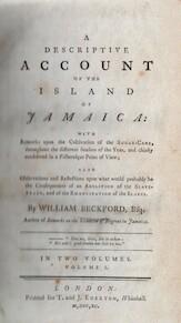 A Descriptive Account of the Island of Jamaica - William Beckford