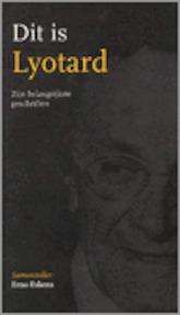 Dit is Lyotard - J.F. Lyotard (ISBN 9789039108840)