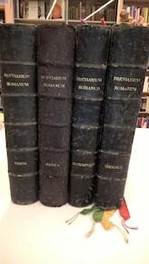 Breviarium Romanum - 4 delen