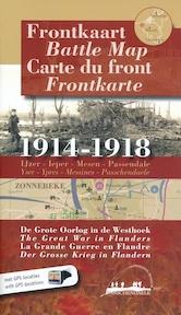 Frontkaart / battle map / carte du front / frontkarte - P. Konings, F. Bostyn (ISBN 9789078131045)