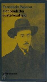 Het boek der rusteloosheid - Fernando Pessoa (ISBN 9789029533690)