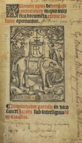 [postincunabel] Aureum opus de veritate contritionis in quo mirifica docume[n]ta eterne salutis aperiuntur. - Giovanni Ludovico Vivaldi