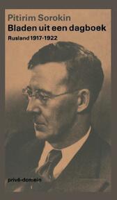 Bladen uit een dagboek (POD) - Pitrim Sorokin (ISBN 9789029546324)