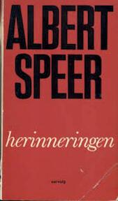 Herinneringen - Albert Speer (ISBN 9789060740385)