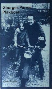 Plakboek - Georges Perros, Frans de Haan (ISBN 9789029533676)