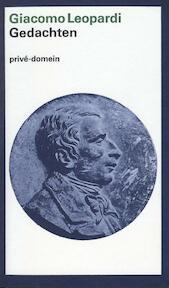 Gedachten - Giacomo Leopardi (ISBN 9789029528696)