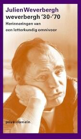 Weverbergh '30-'70 - J. Weverbergh (ISBN 9789029563277)