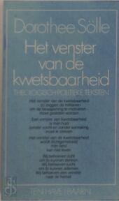 Het venster van de kwetsbaarheid - Dorothee Sölle, Bert van Rijswijk (ISBN 9789025943493)