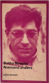 Niemand anders - Botho Strauss (ISBN 9789029547123)