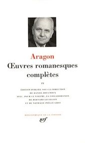 Oeuvres romanesques complètes IV - Aragon (ISBN 9782070115303)