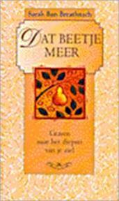 Dat beetje meer - S.B. Breathnach (ISBN 9789022525937)