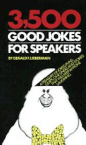 3500 Good Jokes for Speakers - Robert Leiberman (ISBN 9780307481054)